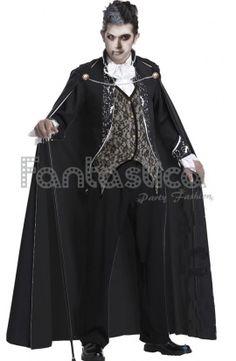 Halloween, disfraces para Hombre, disfraces baratos, diablo, vampiro, Drácula, asesino, difunto, zombie, esqueleto, verdugo - Tienda Esfantastica