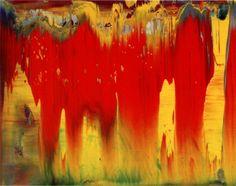 'Abstraktes Bild' (1997) by German artist Gerhard Richter (b.1932). Oil on Alu Dibond, 29 x 37 cm. via the painter's site