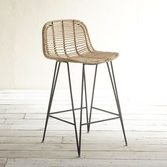 Wicker Counter Stools With Backs Wicker Counter Stools, Counter Stools With Backs, Modern Counter Stools, Kitchen Counter Stools, Kitchen Island, Dining Room Chairs Ikea, Farmhouse Dining Chairs, Cheap Adirondack Chairs, Restaurant Tables And Chairs