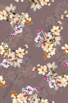 Textile Patterns, Textile Prints, Textile Design, Fabric Design, Floral Vintage, Art Floral, Floral Design, Anemone Flower, Flower Art