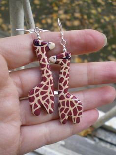 Since I can't have that little giraffe in the tv commercials I want these!  :)  $25.00