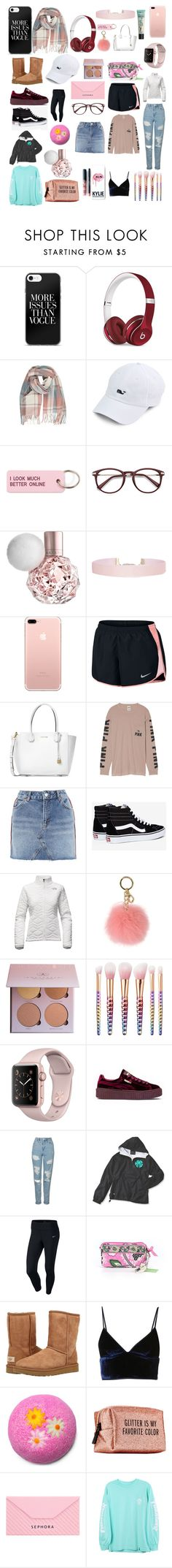 """""""Favs🎀💞"""" by ale-needam on Polyvore featuring Beats by Dr. Dre, Various Projects, Humble Chic, NIKE, Michael Kors, Victoria's Secret, Topshop, Vans, The North Face and MICHAEL Michael Kors"""