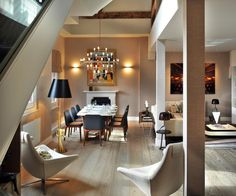 St Pancras Penthouse Apartment London 4 Bursting With Personality: Charming St. Pancras Penthouse in London