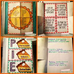 One Lesson at a Time: Author's Purpose Interactive Notebook Freebie