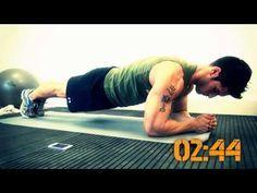 Rutina de abdominales en 8 minutos   Rutinas de ejercicios para abdomen