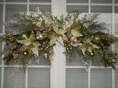 CELADON  &  PEARL   XL Luxe Christmas by DecorClassicFlorals, $174.95