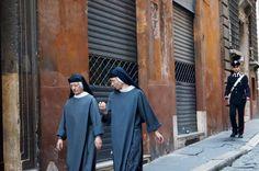 Nuns in Rome Italy
