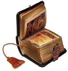 The miniature book 'Slovo o polku Igoreve' (english – The Tale of Igor's Campaign)