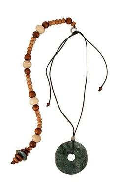 Classic Dark Green Posture Reminder Necklace Washer Necklace, Beaded Necklace, Natural Stones, Jewelry Making, Beads, Dark, Classic, Green, Handmade