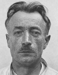 František Kupka, pioneering abstract painter shown here in 1928 many years after his first abstractions.