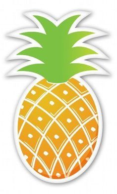 Top Best 5 pineapple vinyl decal for sale 2016 Removable Wall Stickers, Diy Stickers, Vinyl Wall Stickers, Cute Pineapple, Watermelon Birthday, Quilling 3d, Sticker Bomb, Fruit Party, Flamingo Party