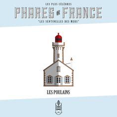 Véritables sentinelles des mers et prouesses architecturales, les phares de France balisent nos côtes maritimes. Cette affiche est une collection de 60 phares emblématiques de la mer du Nord, de l'Atlantique, de la Méditerranée et de l'Outre-Mer. Embarquez avec la Majorette : souvenirs de vacances et évasion garanties. Phare LES POULAINS