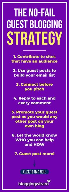 Become a guest blogging pro! Here's what you need to know. Click to read the full guide! #blogging #guestblogging #bloggers #blog #bloggingtips #marketing