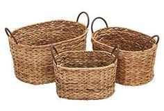 Pasture Baskets, Asst. of 3