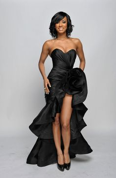 Keri Hilson Evening Dress - Keri Hilson Looks - StyleBistro