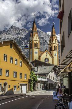 Imst in Tirol, Austria. More scenic Austria http://scenic-calendars.com