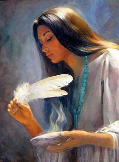 Risultati immagini per native american women art Native American Paintings, Native American Pictures, Native American Wisdom, Native American Beauty, American Indian Art, Native American History, Indian Paintings, American Indians, American Symbols