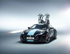 Team Sky receive custom Jaguar F-Type Coupe - carwitter