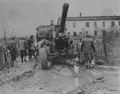 South East Europe, World War Ii, Cannon, Soldiers, Military Vehicles, Mud, Sicily, World War Two, Army Vehicles