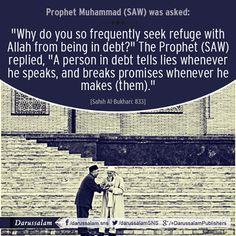 "Narrated 'Aishah (the wife of the Prophet) Allah's Messenger (SAW) used to invoke Allah in the prayer saying « The Straight Path to Jannah  عَنْ عَائِشَةَ، زَوْجِ النَّبِيِّ صلى الله عليه وسلم أَخْبَرَتْهُ أَنَّ رَسُولَ اللَّهِ صلى الله عليه وسلم كَانَ يَدْعُو فِي الصَّلاَةِ "" اللَّهُمَّ إِنِّي أَعُوذُ بِكَ مِنْ عَذَابِ الْقَبْرِ وَأَعُوذُ بِكَ مِنْ فِتْنَةِ الْمَسِيحِ الدَّجَّالِ، وَأَعُوذُ بِكَ مِنْ فِتْنَةِ الْمَحْيَا وَفِتْنَةِ الْمَمَاتِ، اللَّهُمَّ إِنِّي أَعُوذُ بِكَ مِنَ الْمَأْثَمِ…"