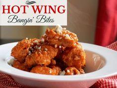 Hot Wing Chicken Bites-Creole Contessa