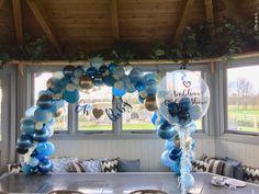 Baby Shower Balloons, Hanukkah, Wreaths, Home Decor, Homemade Home Decor, Door Wreaths, Deco Mesh Wreaths, Interior Design, Home Interiors