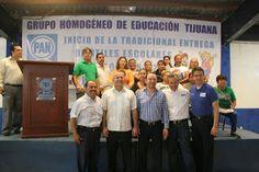 NOTILIBRE TIJUANA, por la libertad de informar.: EL GRUPO HOMOGÉNEO DE EDUCACIÓN HIZO ENTREGA DE PA...