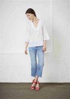 Show details for Colette Blouse  - White