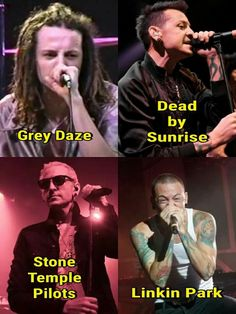WOW, Chester's look has changed, a lot over the years!