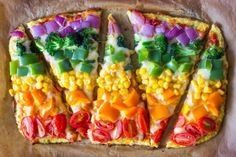 pizza arco iris