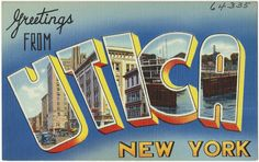 Greetings from Utica, New York | by Boston Public Library