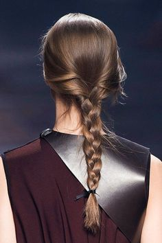 Ultimate BRAIDS Glossary: A Guide To Every Type of Braid There Is - A Regular Three-Strand Braid