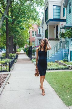 summer outfit black dress