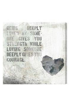 'strength and courage' wall art http://rstyle.me/n/kbdf5r9te