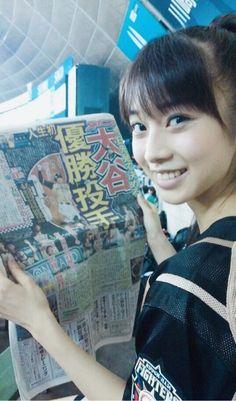 モーニング娘。'16 12期『『♡ファイターズ パ・リーグ優勝♡』…』