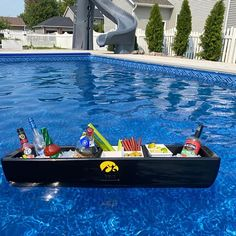 Cocktails For Parties, Wine Parties, Tailgate Bar, Tailgating, Party Barge, Bloody Mary Bar, Beer Bucket, Beverage Tub, Bar Set Up