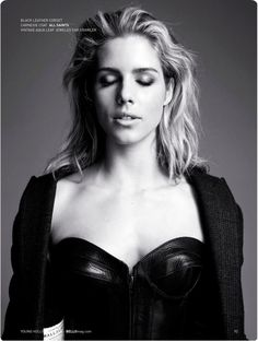Emily Bett Rickards in All Saints photographed by Ricky Middlesworth for Bello Magazine, December 2015.