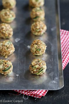 No-Bake Zucchini Bread Granola Bites Recipe {Gluten-Free & Vegan}