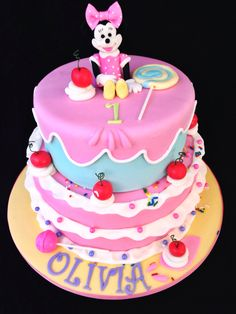 Minnie Mouse Cake, by Amy Hart