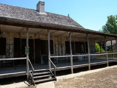Louis Bolduc House 1792 - is one of the oldest structures in St Genevieve MO Great Places, Places To Go, Ste Genevieve, Kansas Missouri, Kansas City, Home Still, French Colonial, Colonial Architecture, Back In Time