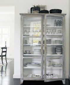 Great cabinet for the kitchen.  Pretty sure I've pinned this before but I don't care - I'm pinning it again anyway.