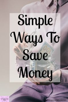 If you want the best tips to save money then these will help you save money fast! These simple ideas will having you saving money in no time! #budget #saving #moneytips
