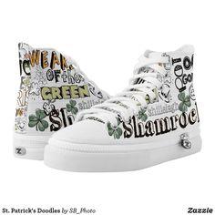 St. Patrick's Doodles #stpatricksday st.patricks day #shamrock #sneakers saints patricks day outfits #womensday shoes sneakers Shoes heels shoes teen shoes flats shoes boots womens shoes sneakers womens shoes flats womens shoes high heels womens shoes casual womns shoes for work mens shoes casual mens shoes with jeans mens shoes dress st patricks day shoes  #shoesoftheday #shoes zazzle produtc #irish #womensshoes #mensshoes #heels #boots canvas shoes #canvasshoes #zazzle #womenswear