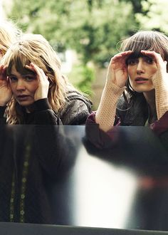 """Keira Knightley and Carey Mulligan portray the characters of Ruth and Kathy H in the movie """"Never Let Me Go""""......"""