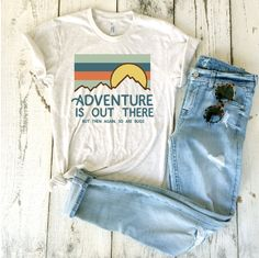 d276dc9c282 Adventure Is Out There (But Then Again So Are Bugs) Adult Unisex Tri Blend  Tee. Saturday Morning Pancakes