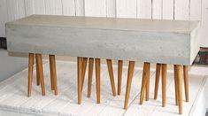 Kunstobjekte aus einem besonders feinen Beton, Designer Jörg Schulze-Roloff