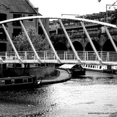 Instagram Beautiful Manchester. #manchester #manchestergram #castlefield #canal #bridges