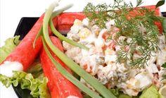 Salada de manga e kani - Foto Getty Images