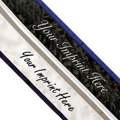 Custom Two Color Edge Sashes provide a luxurious look to your event sashes and can be coordinated to match you theme, formal wear or school colors perfectly! Pageant Sashes, Satin Sash, School Events, School Colors, Text Color, Color Themes, Royalty, Custom Sashes, Prom Ideas