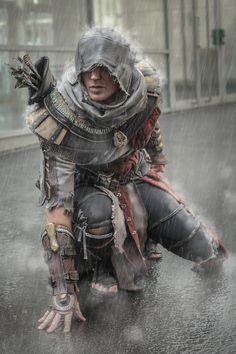 Assassins Creed cosplay William Higinbotham developed an analogue computer with vacuum tube at the The Assassin, Assassins Creed Cosplay, Assassins Creed Origins, Assassins Creed Odyssey, Gothic Horror, Kratz Tattoo, Assasins Cred, Assassin's Creed Wallpaper, All Assassin's Creed